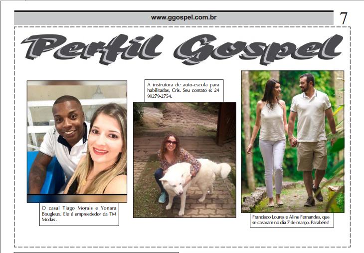 Perfil Gospel - A Coluna Social com Personalidades e Amigos / Março 2020